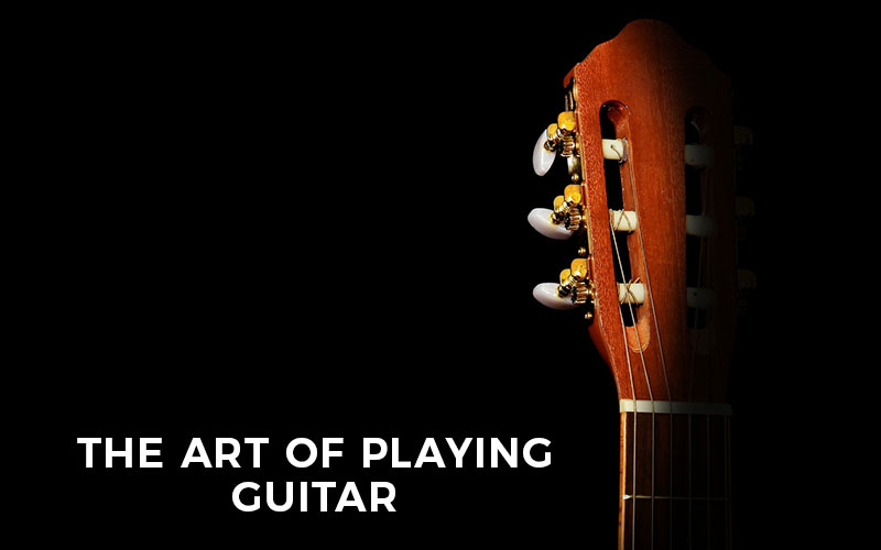 Different Colors Of Learning The Art Of Playing Guitar