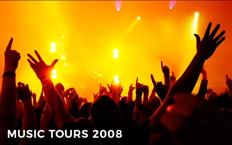 The top 5 music tours of 2008